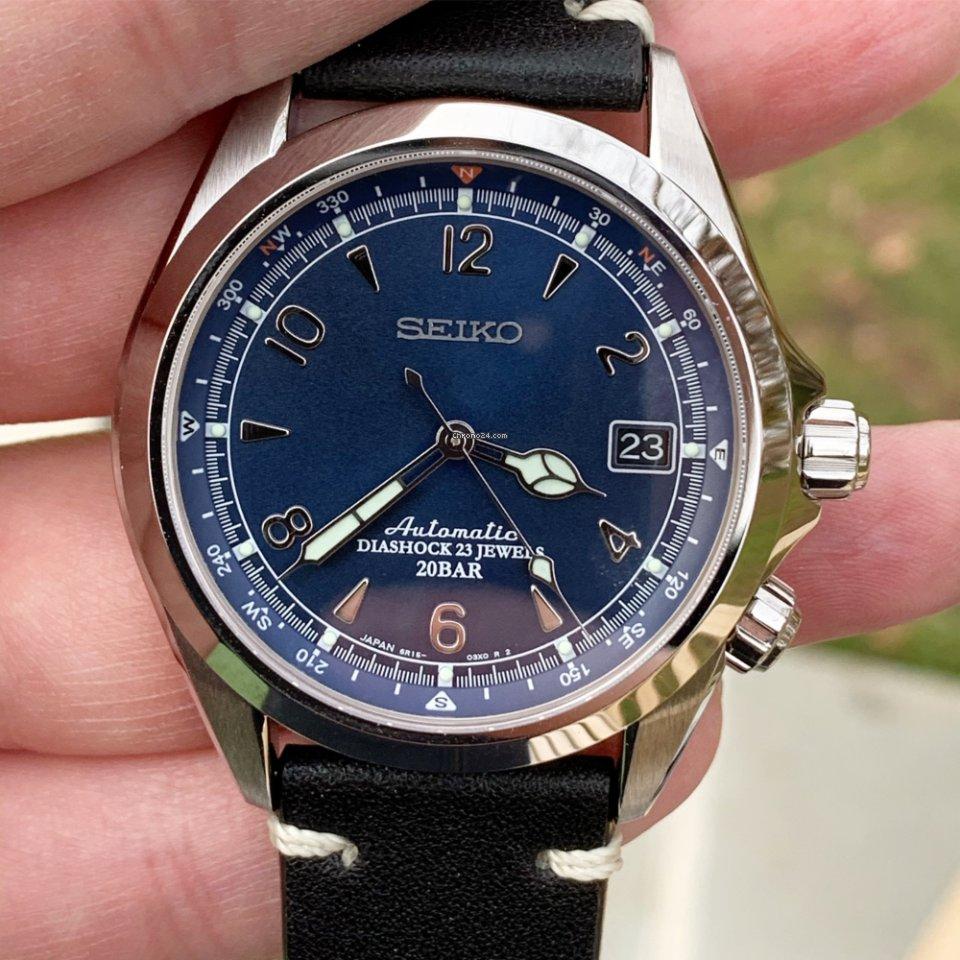 Seiko Alpinist Blue Limited Edition USA
