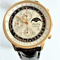 Breitling Montbrillant Olympus Rose gold 42mm Silver