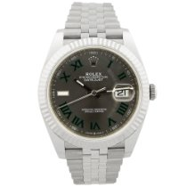 Rolex Datejust Steel 41mm Grey No numerals United States of America, California, Fullerton
