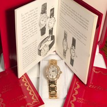 Cartier подержанные Кварцевые 23mm Cеребро Сапфировое стекло 3 атм