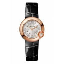 Cartier Ballon Blanc Rose gold 23mm Silver