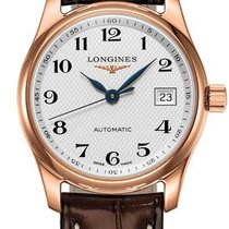 Longines Rose gold Automatic Silver 29mm new Master Collection