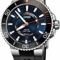 Oris Staghorn Restoration Limited Edition Steel 43.5mm Blue No numerals