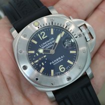 パネライ (Panerai) Luminor Submersible 1000m Blue Pam 87 -...