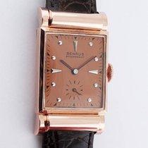 Benrus 14K Rose Gold C-1940's