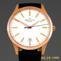 Zenith Captain Central Second 18.2020.670/11.C498 Ungetragen Roségold 40mm Automatik