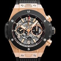 Hublot Big Bang Unico King Gold Ceramic Black 18k King...