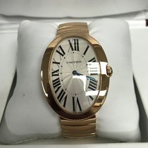 Cartier Baignoire brukt 44mm Roségull