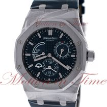 Audemars Piguet 26124ST.OO.D018CR.01 Staal Royal Oak Dual Time 39mm tweedehands