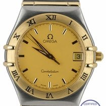Omega Constellation Quartz Acero 33.5mm Oro