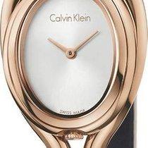 ck Calvin Klein new Quartz 27.5mm Steel Mineral Glass