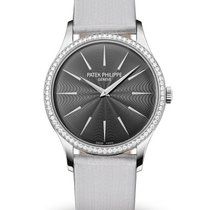 Patek Philippe Calatrava White gold 33mm Grey No numerals United States of America, New York, NYC