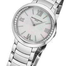 Baume & Mercier Promesse Steel 30mm Mother of pearl Roman numerals United States of America, New York, Scarsdale