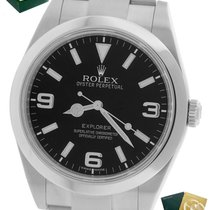 Rolex Explorer pre-owned 39mm Steel