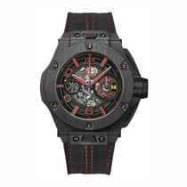 Hublot Big Bang Ferrari Carbono 45mm Transparente Arábigos España, Cataluña