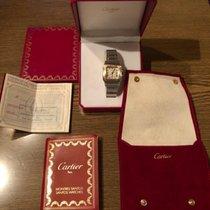 Cartier Santos Galbée Gold/Stahl 29mm Weiß Römisch Österreich, Zell am See