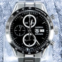TAG Heuer Acier Chronographe Remontage automatique 41mm Carrera Calibre 16