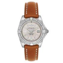 Breitling Chronometer 36mm Quartz new Galactic 32 Champagne