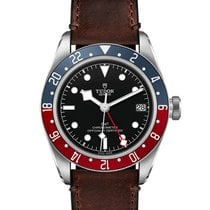 Tudor Black Bay GMT Сталь 41mm Черный