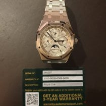 Audemars Piguet Royal Oak Perpetual Calendar new 2013 Automatic Watch with original box and original papers 26574ST.OO.1220ST.01