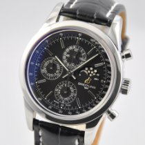 Breitling Transocean Chronograph 1461 Steel 43mm Black No numerals United States of America, Ohio, Mason