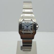Cartier Santos Galbée new 2000 Quartz Watch with original box 1565