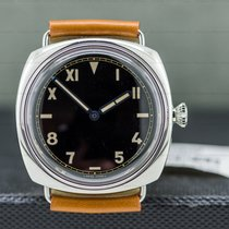 Panerai Special Editions Steel 47mm Black Roman numerals United States of America, Massachusetts, Boston