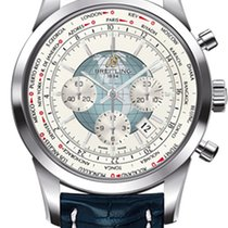 Breitling Transocean Chronograph Unitime Steel 46mm