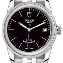 Tudor Steel Automatic Black 36mm new Glamour Date