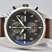IWC Pilot Spitfire Perpetual Calendar Digital Date-Month Сталь 46mm Cерый Aрабские