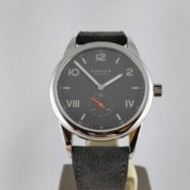 NOMOS Club Campus Steel Black Arabic numerals