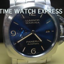 Panerai Luminor Marina Automatic Steel 44mm Blue Arabic numerals United States of America, New York, New York