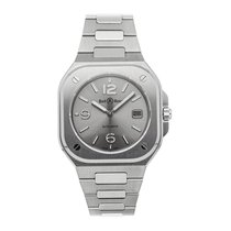 Bell & Ross Steel Automatic Grey Arabic numerals 40mm pre-owned BR 05