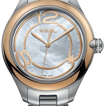 Ebel Onde Gold/Steel 36mm Mother of pearl United States of America, New York, Airmont