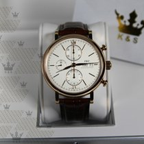 萬國 IW391020   Portofino Chronograph Rose Gold White Dial