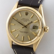 Rolex Chronometer 34mm Automatik 1973 gebraucht Oyster Perpetual Date