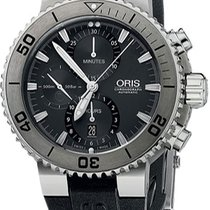 Oris Aquis Titan Chronograph Titanium Grey United States of America, New York, Brooklyn