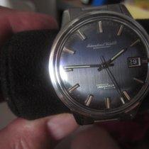 IWC Jumbo Ingenieur 866 AD full Set blau/grau gestreiftes...