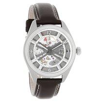 Hamilton Mens Khaki Field Skeleton Dial  Automatic Watch...