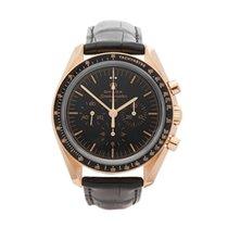 Omega Speedmaster Professional Moonwatch Oro rosado 42mm Negro
