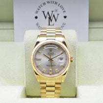 Rolex Day-Date Yellow Gold with Factory Diamond Dial