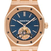 Audemars Piguet Royal Oak Tourbillon Rose gold 41mm Blue United Kingdom, London