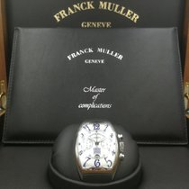 Franck Muller Platinum Automatic White Arabic numerals 40mm pre-owned
