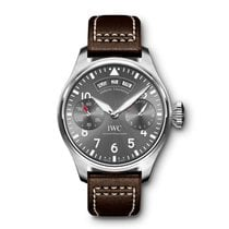 IWC Big Pilot Otel 46mm Gri Arabic