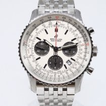 Breitling AB0121211G1A1 Staal 2021 Navitimer 1 B01 Chronograph 43 43,00mm nieuw