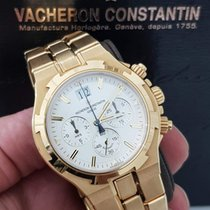 Vacheron Constantin Yellow gold Automatic pre-owned Overseas Chronograph