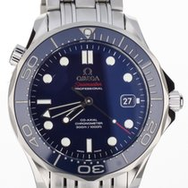 Omega Seamaster Diver 300m 41mm Blue Steel 41mm Box And Some...