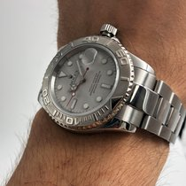 Rolex Yacht-Master 40 Steel 40mm Silver No numerals United States of America, New York, NYC