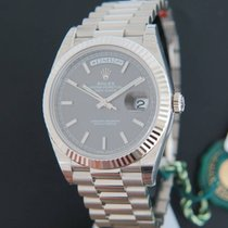Rolex Day-Date White Gold 40 228239 NEW