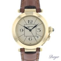 Cartier Pasha Yellow gold 38mm Arabic numerals